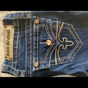Rock Revival Boot Cut Jeans